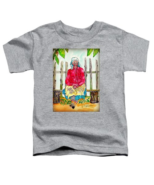 Old Migrant Worker, Resting, Arcadia, Florida 1975 Toddler T-Shirt