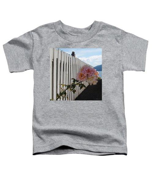 Orcas Island Rose Toddler T-Shirt