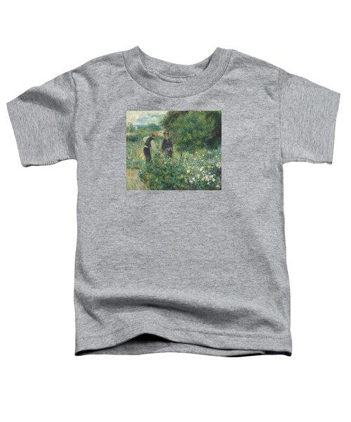 Picking Flowers Toddler T-Shirt