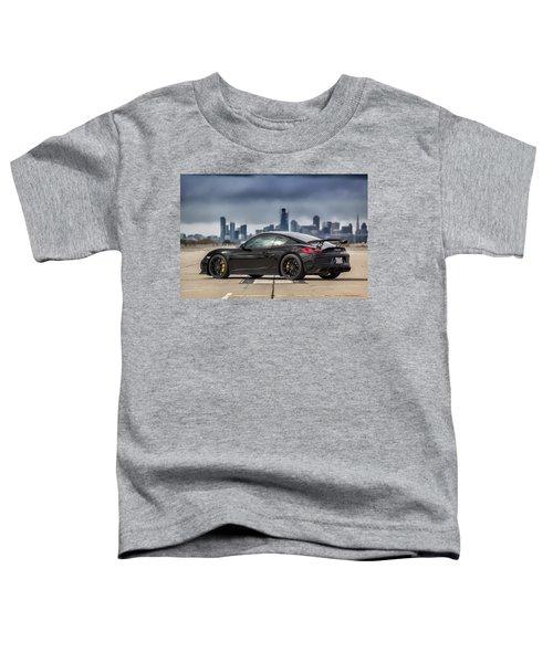 #porsche #cayman #gt4 Toddler T-Shirt