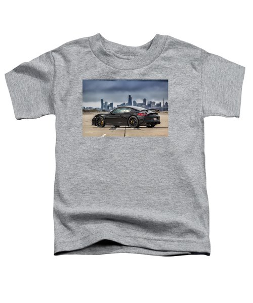 #porsche #cayman #gt4 Toddler T-Shirt