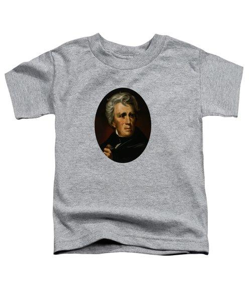 President Andrew Jackson - Four Toddler T-Shirt