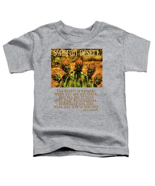 Prickly Pear Cactus Toddler T-Shirt