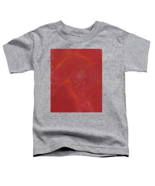 Red Field Toddler T-Shirt