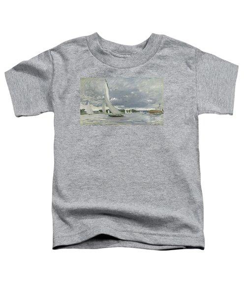 Regatta At Argenteuil Toddler T-Shirt