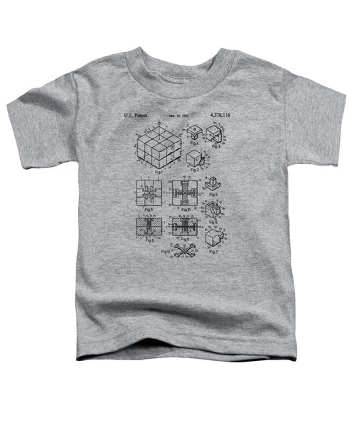rubik's cube Patent 1983 Toddler T-Shirt