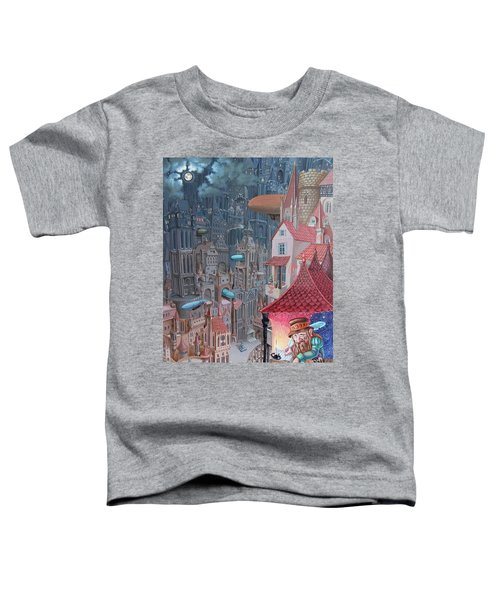 Saga Of The City Of Zeppelins Toddler T-Shirt