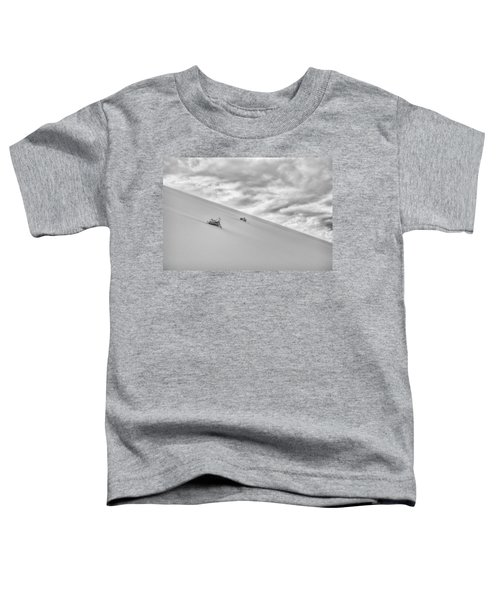Toddler T-Shirt featuring the photograph Sand And Clouds by Hitendra SINKAR