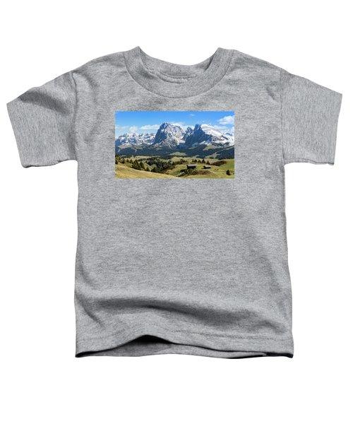 Sasso Lungo And Sasso Piatto Toddler T-Shirt