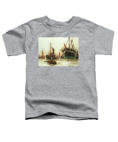 Shipping In The Pool Of London Toddler T-Shirt