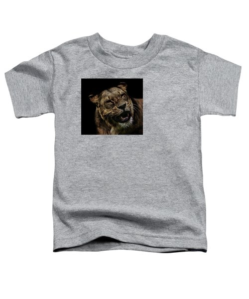 Smile Toddler T-Shirt by Martin Newman
