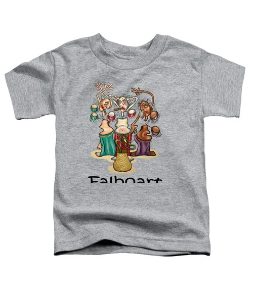 Smoking Belly Dancers Toddler T-Shirt by Anthony Falbo