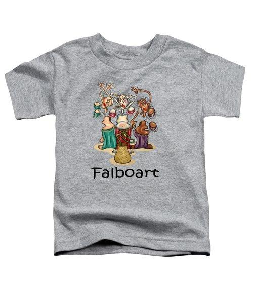 Smoking Belly Dancers Toddler T-Shirt