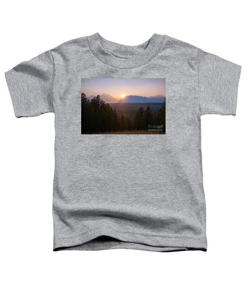 Snake River Sunset  Toddler T-Shirt