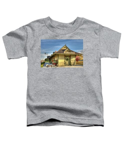 St. Charles Depot Toddler T-Shirt