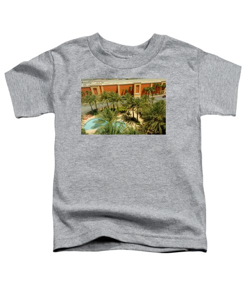 Staycation Upgrade Toddler T-Shirt