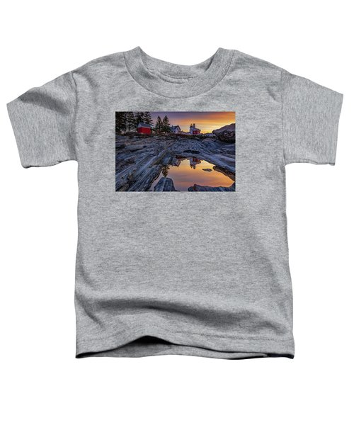 Sunrise At Pemaquid Point II Toddler T-Shirt