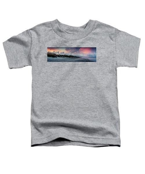 Sunset Emerald Isle Crystal Coast Toddler T-Shirt