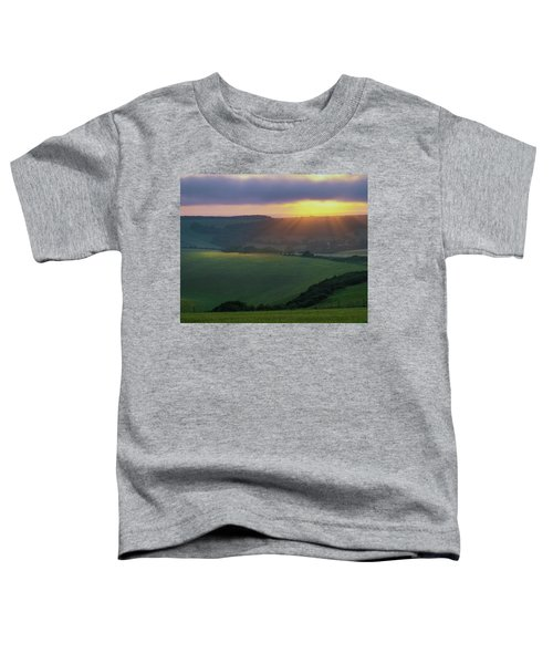 Sunset Over The South Downs Toddler T-Shirt