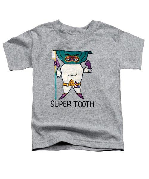 Super Tooth Toddler T-Shirt