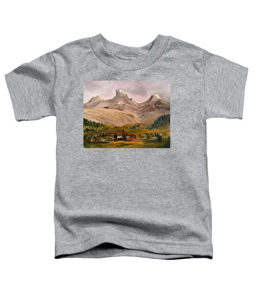 Tetons From The West Toddler T-Shirt