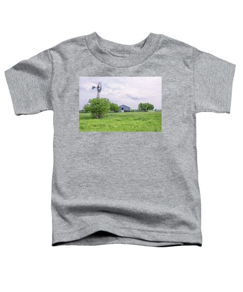 Texas Windmill Toddler T-Shirt