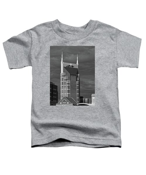 The Batman Building - Nashville Toddler T-Shirt