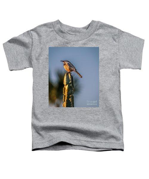 The Cactus Wren Toddler T-Shirt