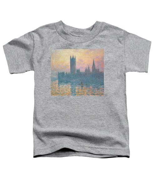 The Houses Of Parliament  Sunset Toddler T-Shirt