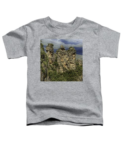 Toddler T-Shirt featuring the photograph The Three Sisters by Chris Cousins