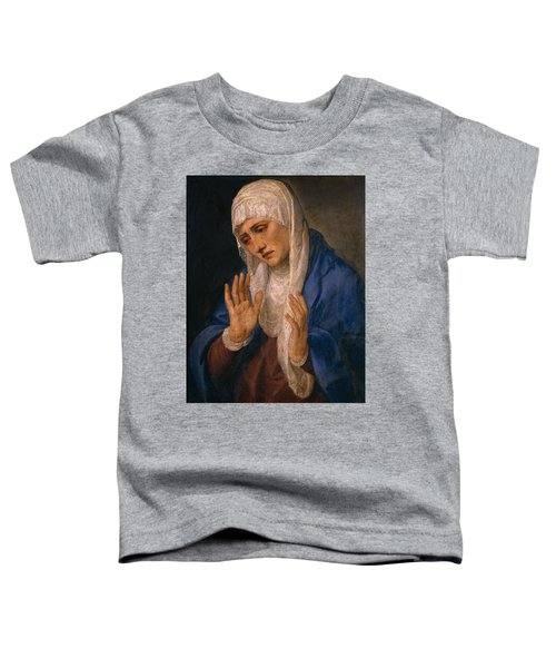 The Virgin Dolorosa With Her Hands Apart Toddler T-Shirt