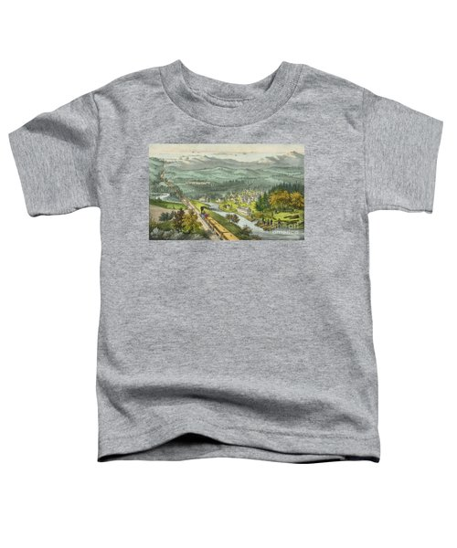 Through To The Pacific Toddler T-Shirt