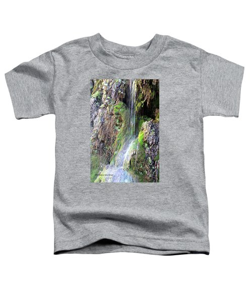 Tonto Waterfall Cave Toddler T-Shirt