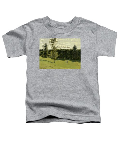 Train In The Countryside Toddler T-Shirt