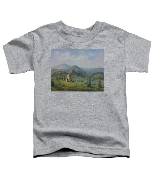 Tuscany Italy Olive Groves Toddler T-Shirt