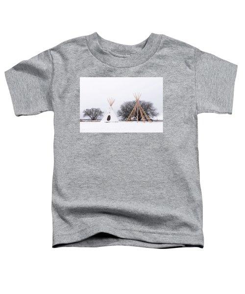 Two Tipis Toddler T-Shirt