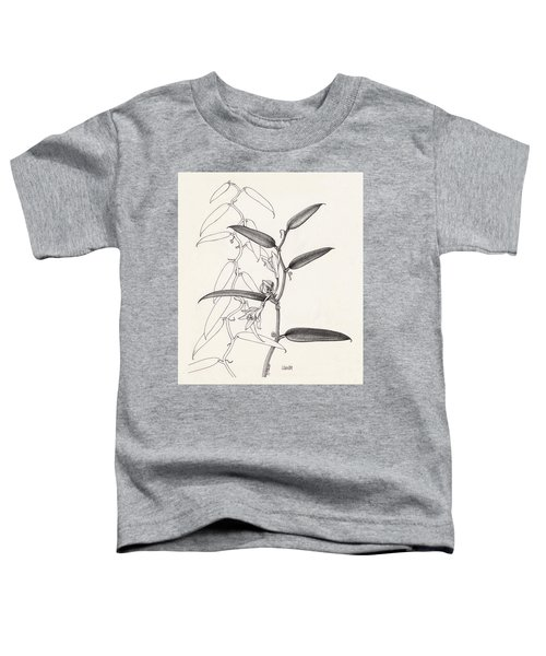Toddler T-Shirt featuring the drawing Vanilla by Judith Kunzle