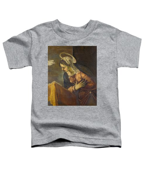 Virgin From The Annunciation To The Virgin Toddler T-Shirt