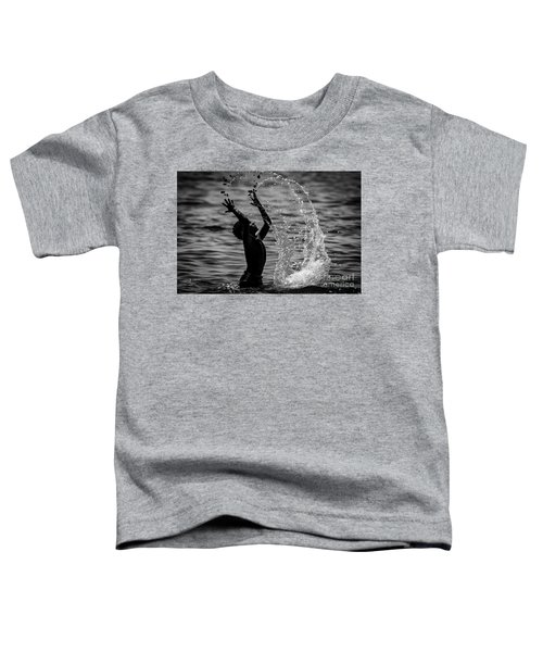Water And Stones 3 Toddler T-Shirt