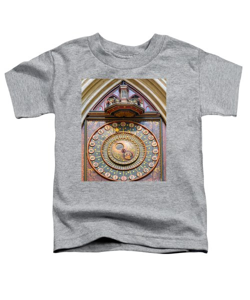 Wells Cathedral Clock Toddler T-Shirt