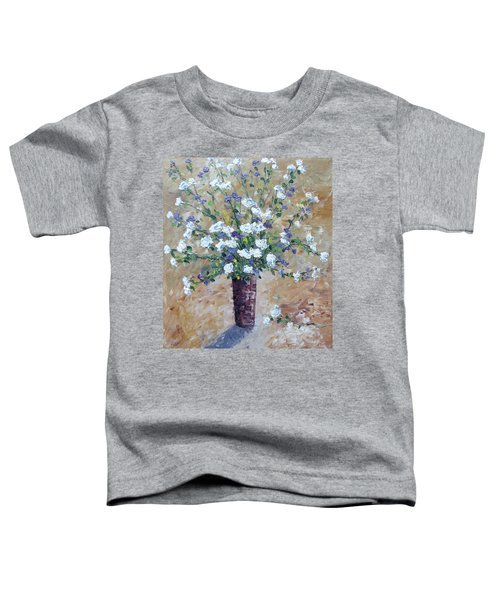 White Roses Toddler T-Shirt