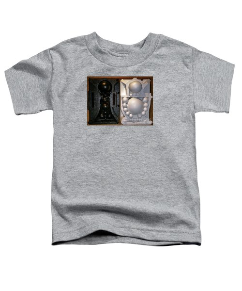 Toddler T-Shirt featuring the painting Willendorf Wedding by James Lanigan Thompson MFA