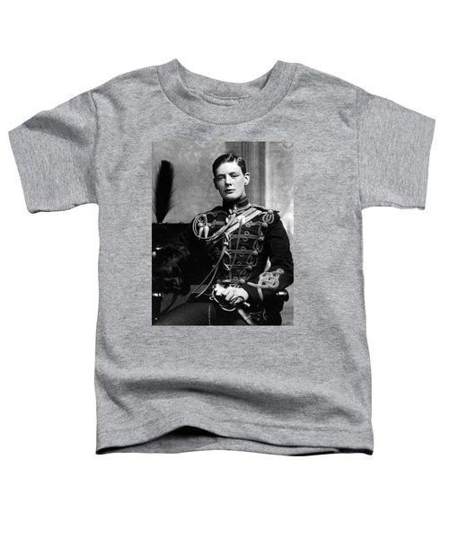 Winston Churchill  Toddler T-Shirt