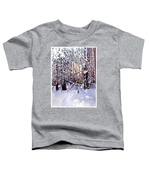 Wintertime Painting Toddler T-Shirt