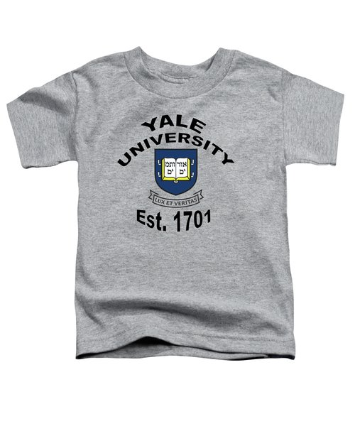Yale University Est 1701 Toddler T-Shirt