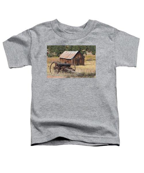 Seed Tiller - Barn Westcliffe Co Toddler T-Shirt