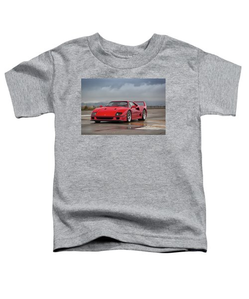 #ferrari #f40 #print Toddler T-Shirt