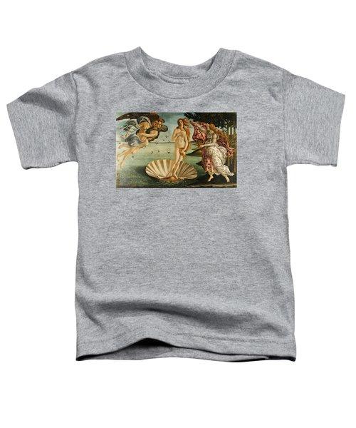 The Birth Of Venus Toddler T-Shirt