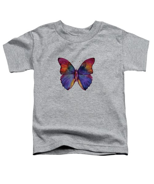 13 Narcissus Butterfly Toddler T-Shirt by Amy Kirkpatrick