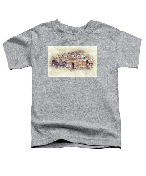 148 Tucker Torpedo - Tucker Sedan - Tucker 48 - 1948 - Automotive Art - Car Posters Toddler T-Shirt